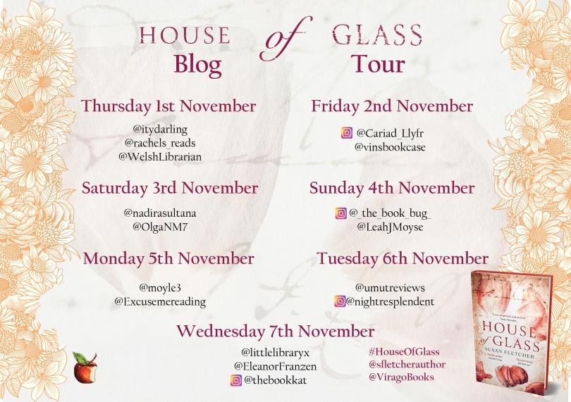 House of Glass Blog Tour